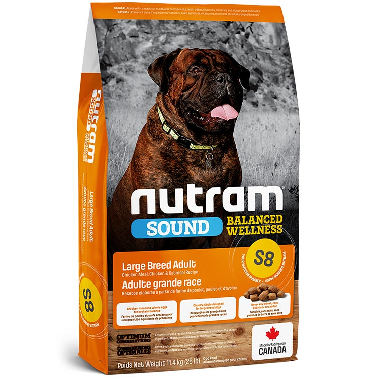 Nutram Large Breed Adult S8
