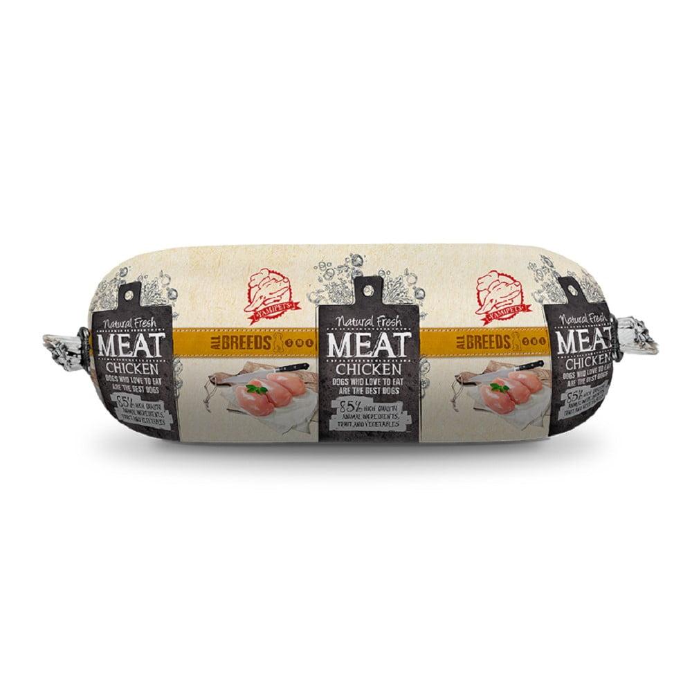 Natural Fresh Meat Hondenworst Kip 600gram