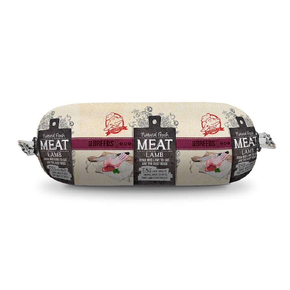 Natural Fresh Meat Hondenworst Lam 600gram