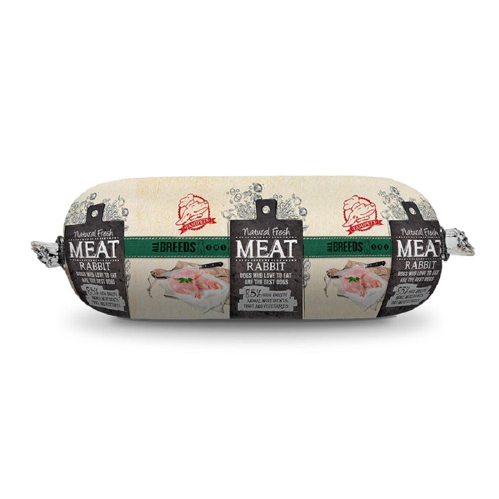 Natural Fresh Meat Hondenworst konijn 600gram