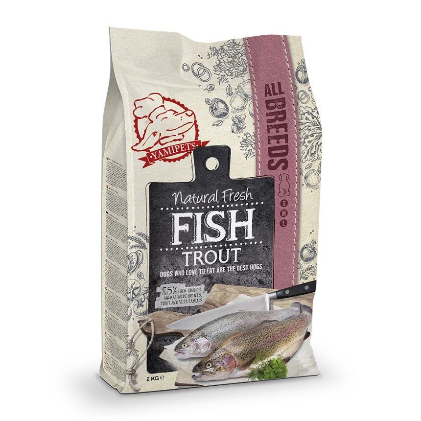 Natural fresh Fish All Breeds Forel