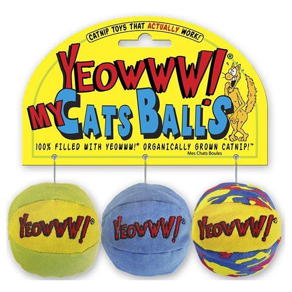 Yeowww MY CATS BALLS verpakking
