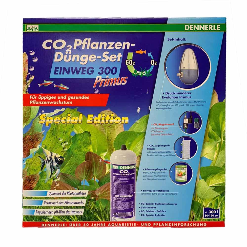 Dennerle CO2-Plantenbemestingsset Wegwerp 300 Primus Special Edition