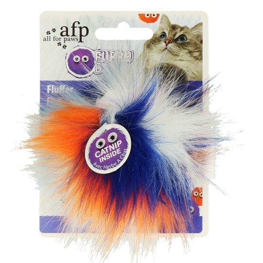 AFP Furry Fluffy Bal Oranje