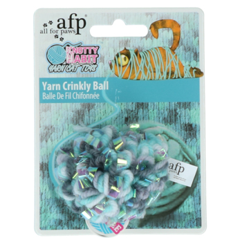 AFP Knotty Habit - Yarn Crinkly Ball