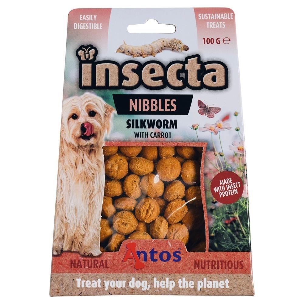 antos-insecta-nibbles-zijderups-en-wortel