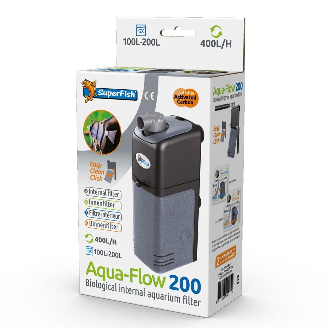 superfish-aqua-flow-200-filter