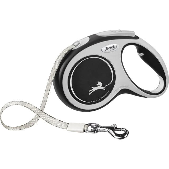Flexi Rollijn Comfort Tape M 5mtr Zwart